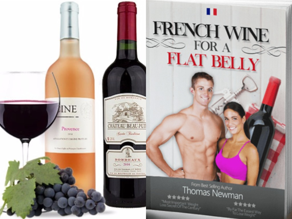 french wine for a flat belly diet plan
